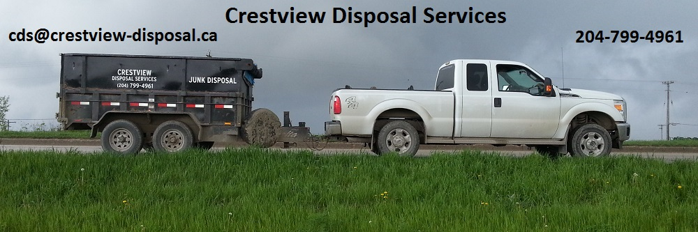 Crestview Disposal Services - Junk removal and disposal - 204-799-4961